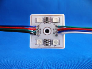 5050 4LEDs Square LED Module pictures & photos