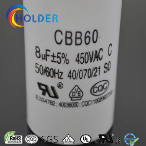 Metallized Polypropylene Film AC Motor Capacitor (CBB60 805/450) pictures & photos