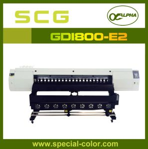 1.8m High Width Sublimation Printing Machine with Dx5 Gd1800-E2 White pictures & photos