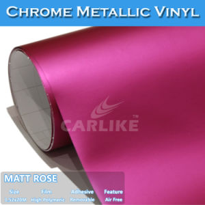 Saleable Durable Matt Chrome Metallic Car Stickers