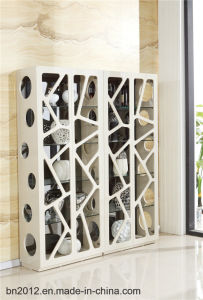 Home Furniture Wine Cabinet Shelf (JG-118) pictures & photos