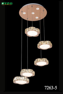Hot Sale Modern Hotel Decorative Crystal Chandelier/Chandelier Lightingpendant Lamp