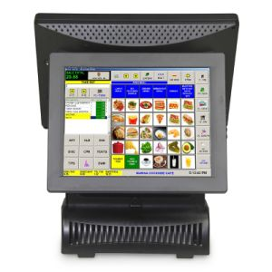 Tower Double Screen Touch POS Machine pictures & photos