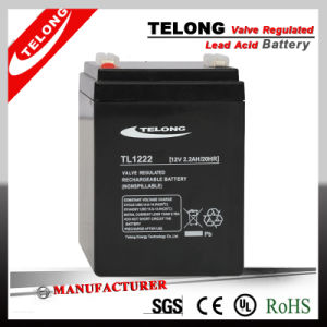 12V2.2ah Sealed Lead Acid Battery for Toy Car, Electric Tools, Alarm System pictures & photos