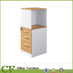 Office Side Storage High Cabinet 4 Drawer Pull Door Cabinet pictures & photos