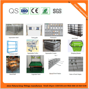Hot Sale Metal Display Rack Storage Rack (YY-R07) pictures & photos