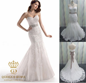 Mermaid Wedding Dress Made to Measure Ball Gown pictures & photos