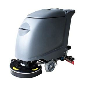Electric Hand Push Floor Scrubber for Office Building pictures & photos