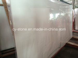 Cheap Pure White Engineered Stone for Wall/Floor/Countertop