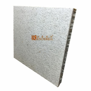 Natural Stone Coating Aluminum Honeycomb Panel for External Cladding pictures & photos