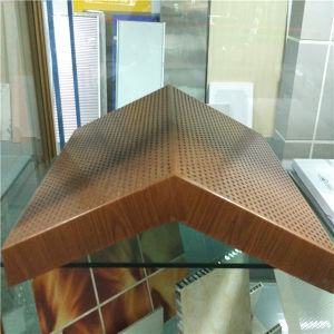 Wood Look Special Shape Aluminium Honeycomb Panels pictures & photos