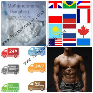 Muscle Building Steroid Dianabol / Dbol/ Methandrostenolone / Metandienone CAS 72-63-9 pictures & photos