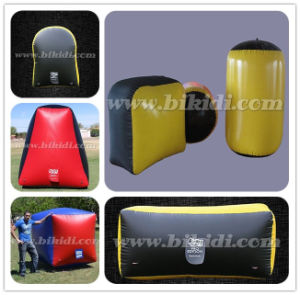 Outdoor Inflatable Paintball Bunker Set, Inflatable Paintball Field K8002 pictures & photos