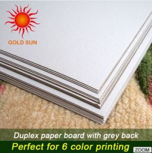 Duplex Board Paper 250GSM. 300GSM. 350 GSM. 400GSM pictures & photos