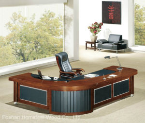Large Size Grace Design Office Wooden Executive Manager Desk (HF-MH0923) pictures & photos