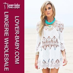 Sexy Bohemian Crochet Beach Tunic (L38266) pictures & photos