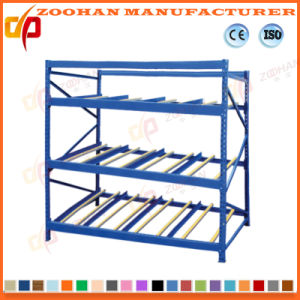 High Quality Warehouse Flow Through Shelves Display Rack (ZHR384) pictures & photos
