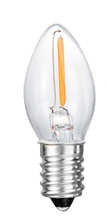 C7 New LED Tail Flameless Glass Candle Light Bulb 1W 2W 3W 4W for Energy Saving pictures & photos
