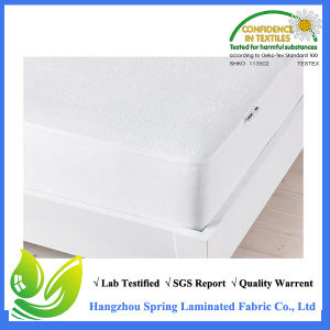 2016 China Supplier Bamboo Terry Waterproof Mattress Protector Cover pictures & photos