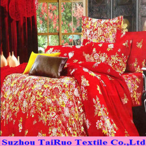 100% Polyester Pongee with Disperse Printed for Bedsheet Fabric pictures & photos