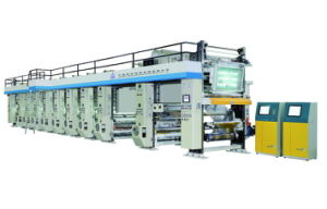 Rotogravure Printing Machine with Max Printing Speed of 150m/Min pictures & photos