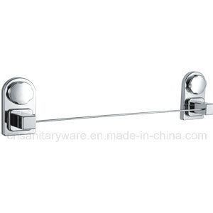 Economical Chrome Plated Suction Cup with Stainless Steel Towel Bar Used in Shower Bathroom