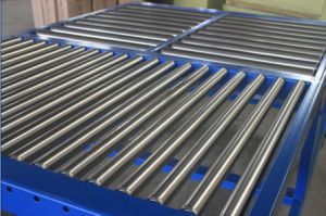Gravity Roller Conveyor Work Table for Warehouse pictures & photos