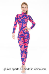 Stylish Super Stretchy Slimming Neoprene Printing Wetsuit for Women pictures & photos