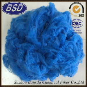Colored Heat-Resistant Polyester Staple Fiber PSF (6dx102mm) pictures & photos
