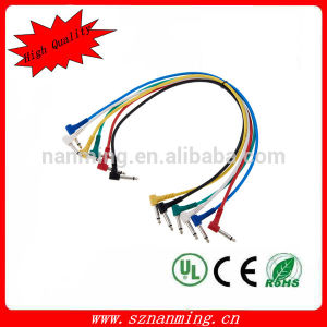 """1/4"""" 6.35mm Trs Male to Male Patch Cable pictures & photos"""