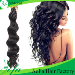 Cheap Unprocessed 7A Virgin Remy Hair Brazilian Human Hair Extension pictures & photos