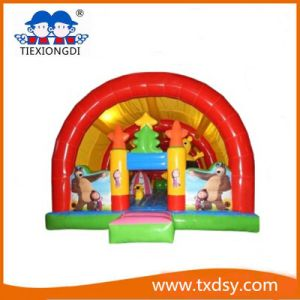 Funny Bouncy Paradise, Amusement Euipment Inflatable Castle Txd16-212465 pictures & photos