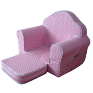 Playroom Kids Furniture with Ottoman/Baby Furniture/Children Fabric Sofa (SXBB-223) pictures & photos