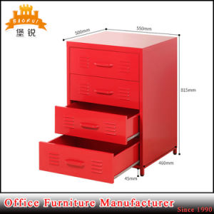 4 Tiers Steel Small Home Cabinet with Feet pictures & photos