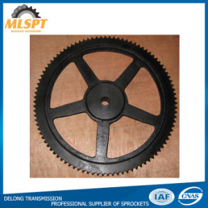 Black Chain Cast Iron Large Sprocket pictures & photos