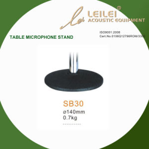 Ajustable Table Microphone Stand Base (SB30) pictures & photos