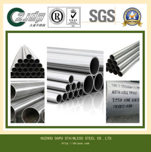AISI 304 28mm Diameter Stainless Steel Welded Pipe pictures & photos