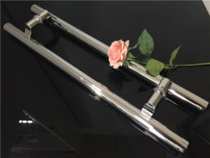 Chrome Back to Back Stainless Steel Pull Push Handle pictures & photos