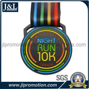 Customer Design 10k Running Medal Black Nickel Finish pictures & photos