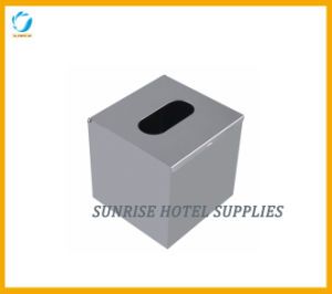 Stainless Steel Matt Finish Square Tissue Box pictures & photos