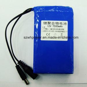 12V 7500mAh Li-Polymer Batteries Packs for LED Solar Wall Light pictures & photos