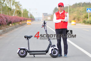 Best Selling Foldable Electric Scooter with Easy Adjustable Seat pictures & photos