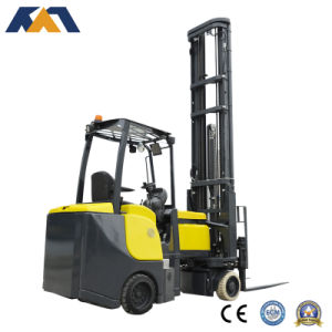 New Designed 2ton Electric Narrow Aisle Forklift Outdoor Warehousing Truck pictures & photos