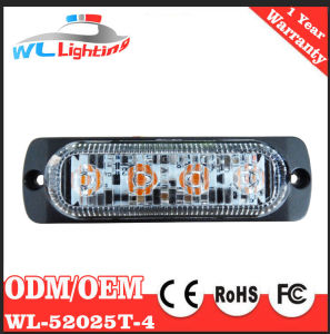 Red Car External Warning Light LED Surface Mounting Grill Light pictures & photos