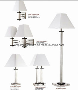 Power Outlet Hotel Double Wall Lamp with Wire Cover pictures & photos