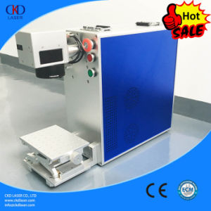 China Supplier 20W Portable Fiber Laser Marking Machine pictures & photos