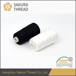 Sakura Oeko-Tex Reasonable Price 100% Core Spun Polyester Sewing Thread pictures & photos
