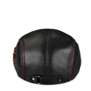 Winter Hat Leather Beret Hats for Men/ Newsboy Cap Hat pictures & photos