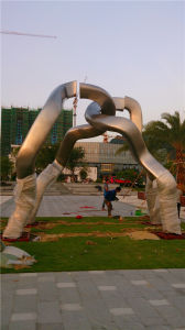 Chain, Stainless Steel Sculpture Abstract Outdoor Sculpture. pictures & photos
