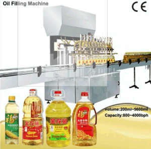 Cooking Oil Filler Oil Bottling Machinery pictures & photos